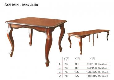 Julia kokkupandav laud